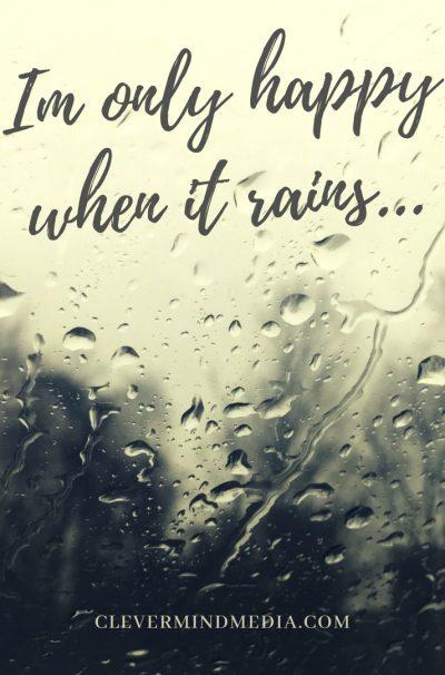 mediagraphyx.com Im Only Happy When It Rains Instagram Ad