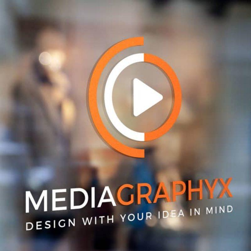 Mediagraphyx Window Sign