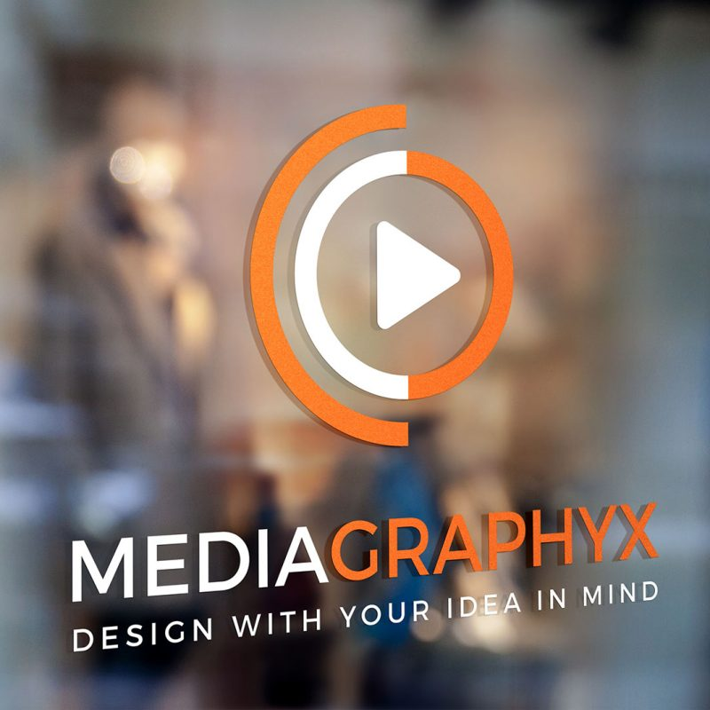 Mediagraphyx Window Sign