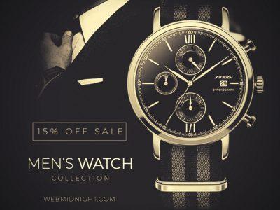mediagraphyx.com Men's Watch Instagram Ad