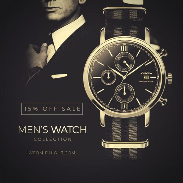 mediagraphyx.com Men's Watch Instagram Ad