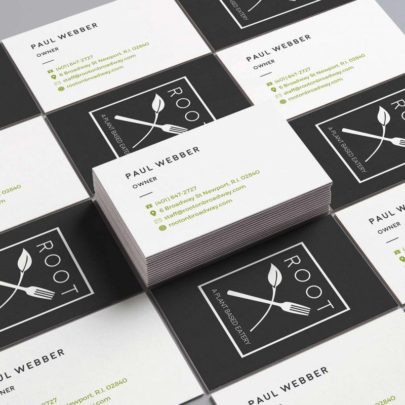 Rootonbroadway.com Business Card Design