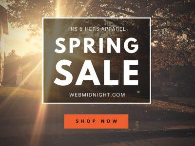 mediagraphyx.com Spring Sale Instragram Ad